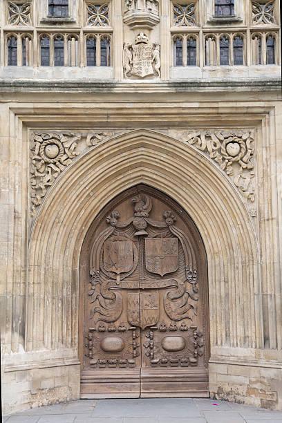 Main Entrance of Abbey, Bath Main Entrance of Abbey, Bath, England, UK bath abbey stock pictures, royalty-free photos & images