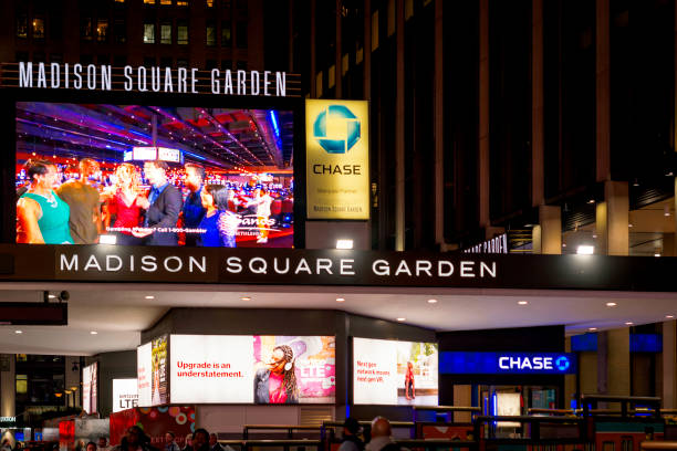 Royalty free madison square garden pictures images and - Madison square garden to times square ...