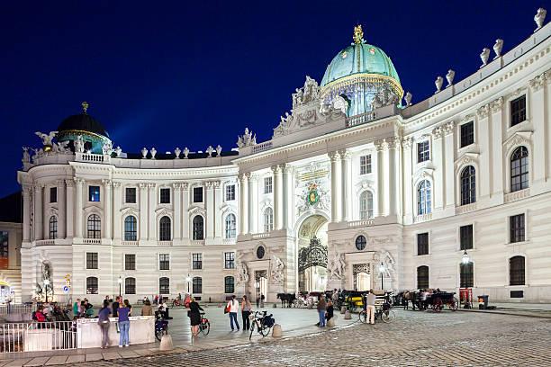 Haupteingang der Hofburg in Wien, Österreich. – Foto