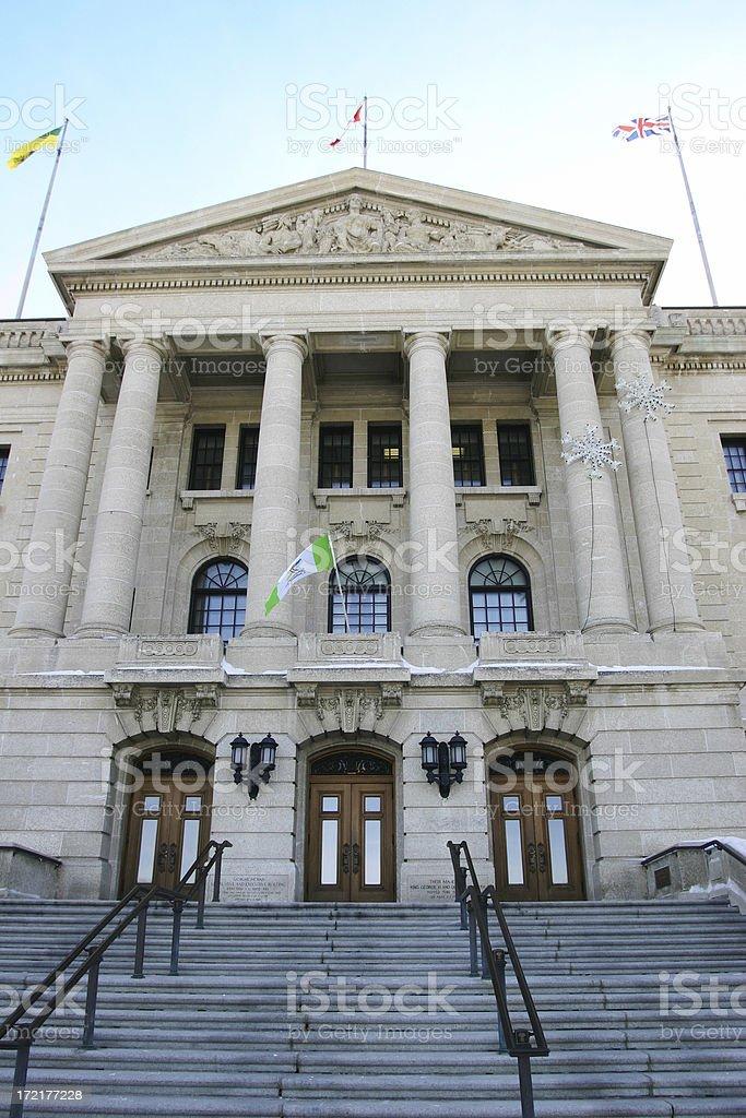 Main Entry Saskatchewan Legislature stock photo