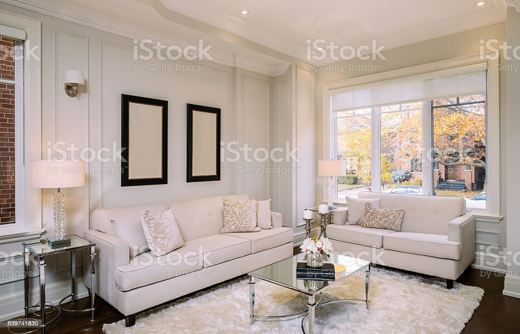Main floor interior stock photo