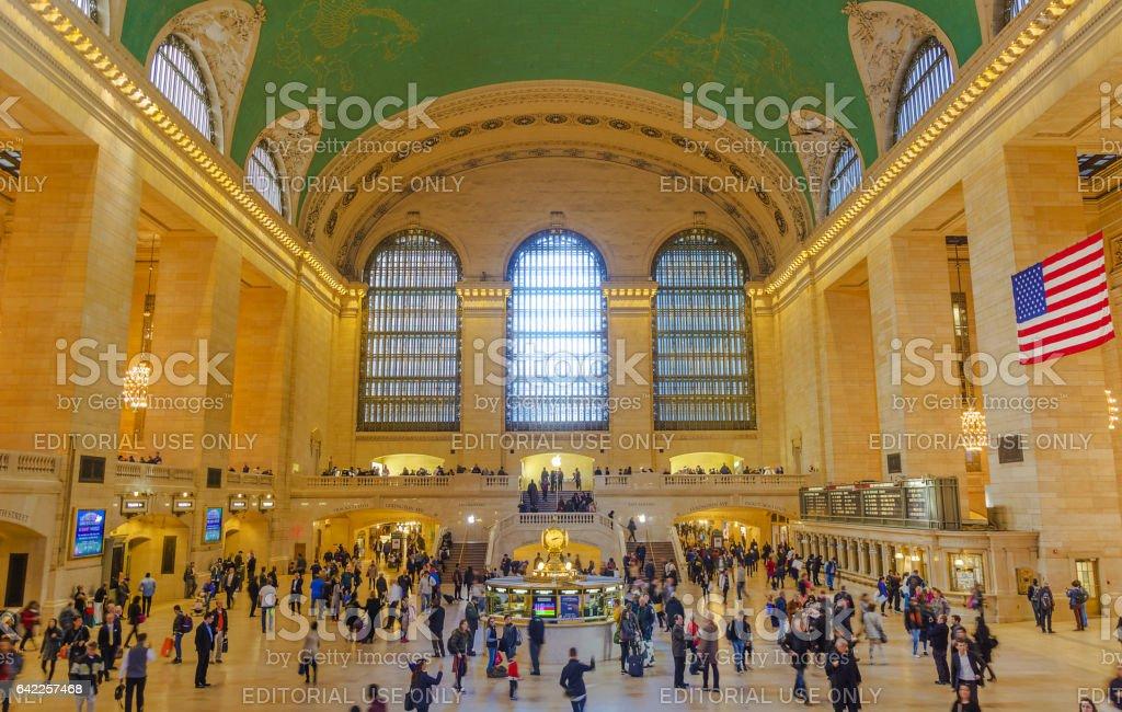 Main hall Grand Central Terminal, New York stock photo
