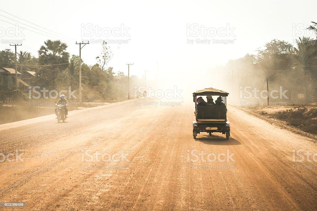 Main highway stock photo