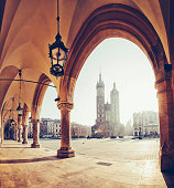 istock Main Market square of Krakow 529555123