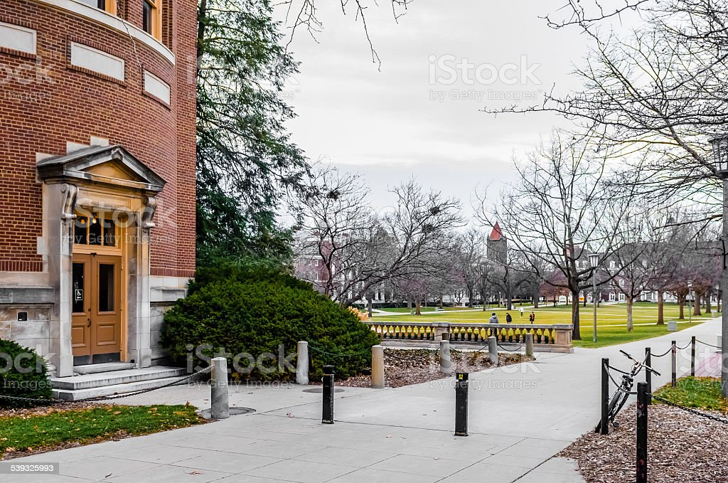 Main Qua of University of Illinois at Urbana-Champaign royalty-free stock photo