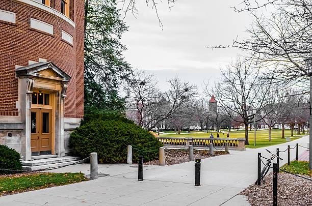 Main Qua of University of Illinois at Urbana-Champaign stock photo