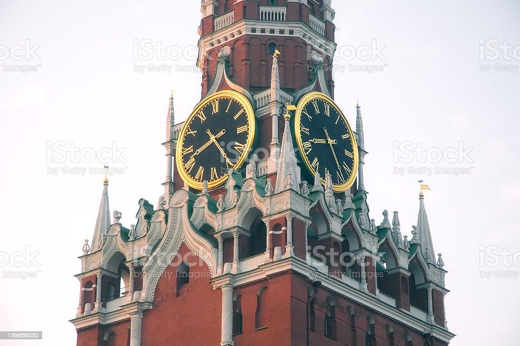 5158 - Main Russian Clock stock photo