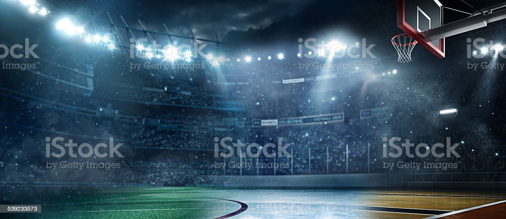 Main sports stadiums stock photo