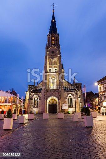 istock Main Square in Sint Truiden at dawn 903935122