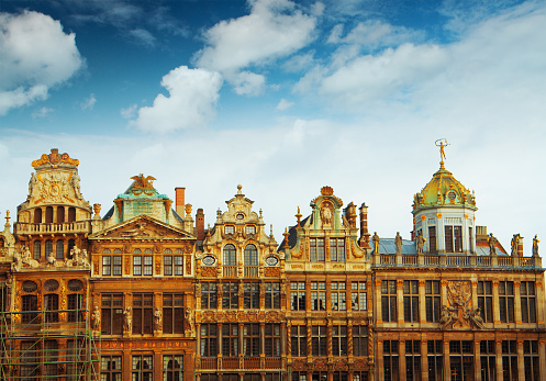 Main Square Of Brussels Belgium Stock Photo - Download Image Now