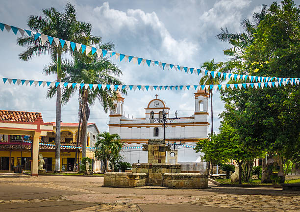 Main square of Copan Ruinas City, Honduras Main square of Copan Ruinas City, Honduras honduras stock pictures, royalty-free photos & images