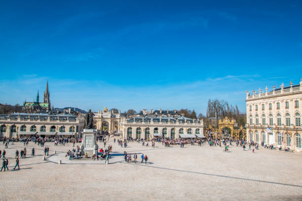Main Square of Nancy France France grand est stock pictures, royalty-free photos & images