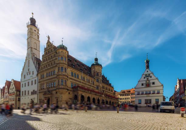 Place principale de Rothenburg-ob-der-Tauber - Allemagne - Photo