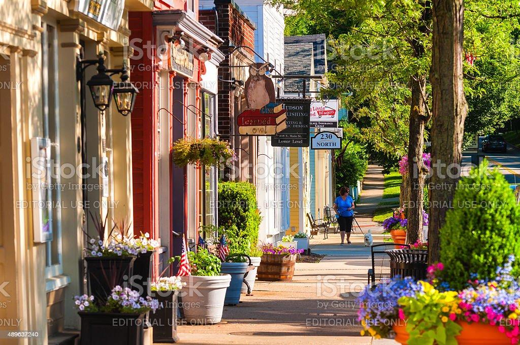 Main Street north royalty-free stock photo