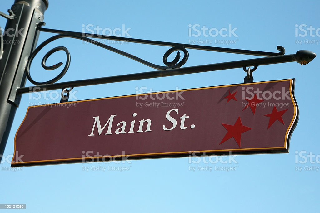 main street sign pictures, images and stock photos - istock