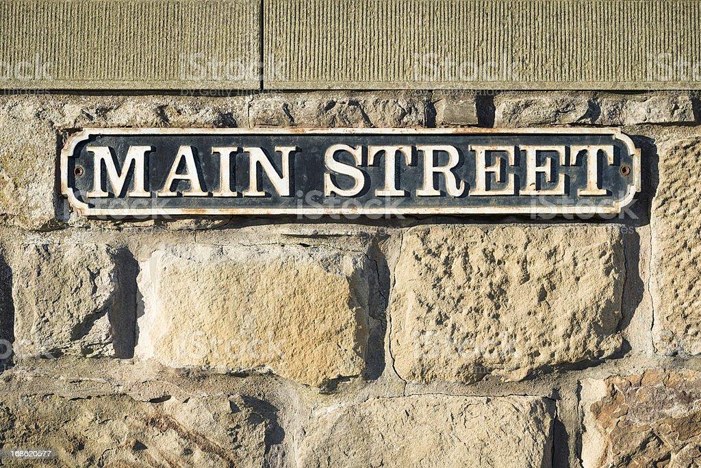 Der'Main Street'symbol – Foto