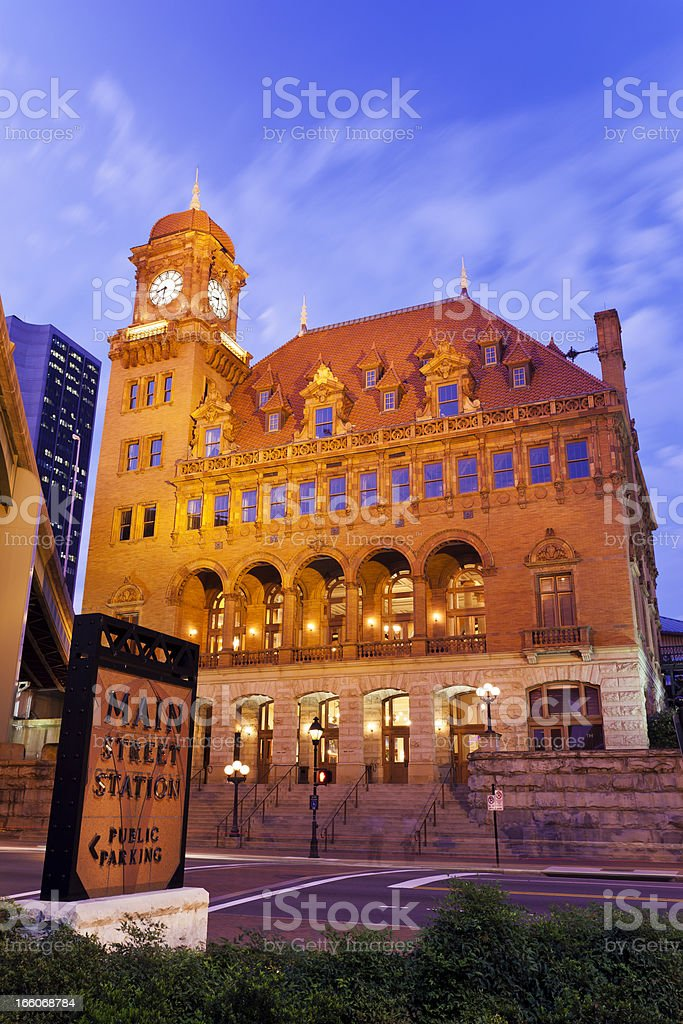 Main Street Station In Richmond, Virginia royalty-free stock photo