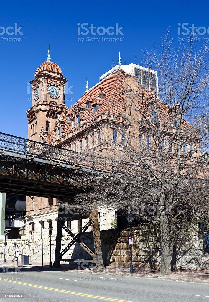 Main Street Train Station In Richmond, Virginia royalty-free stock photo