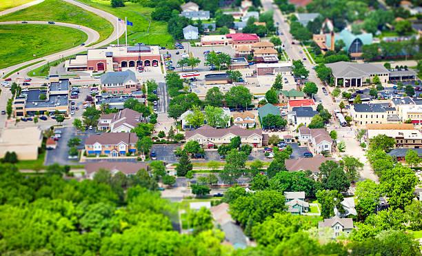 Main Street USA stock photo