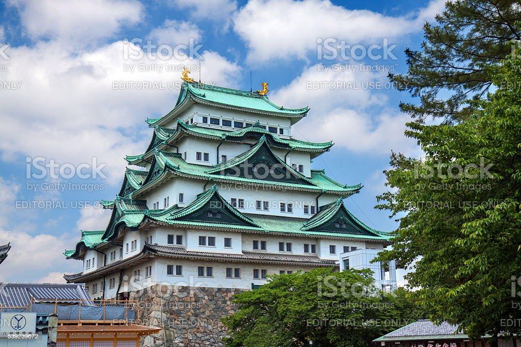 Torre principal do Castelo de Nagoya foto royalty-free