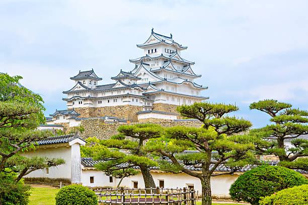 Hauptturm der Burg Himeji in Japan. – Foto