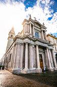 istock Main View of San Carlo Square and Twin Churches, Turin 916757974