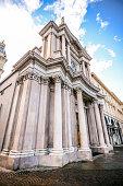 istock Main View of San Carlo Square and Twin Churches, Turin 960011858