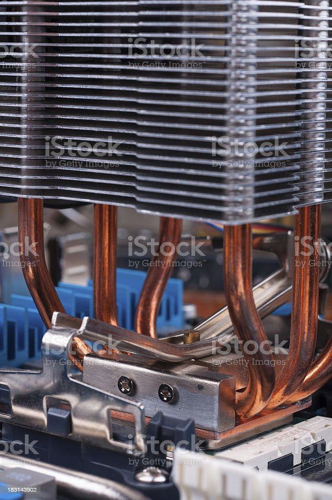 PC Mainboard part royalty-free stock photo