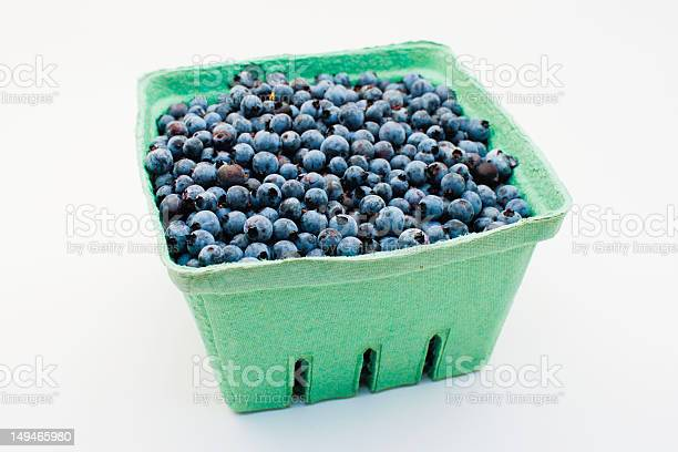 Maine Blueberries Stock Photo - Download Image Now