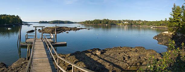 Maine Coastal Region stock photo