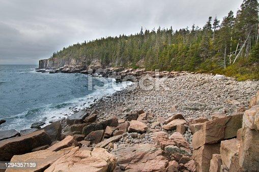 Maine Coastline - Acadia National Park
