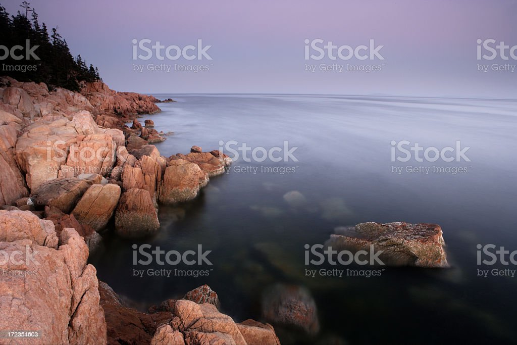 Maine Coastline royalty-free stock photo