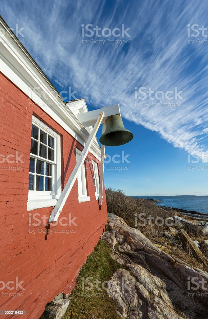 Maine - Lighthouse stock photo