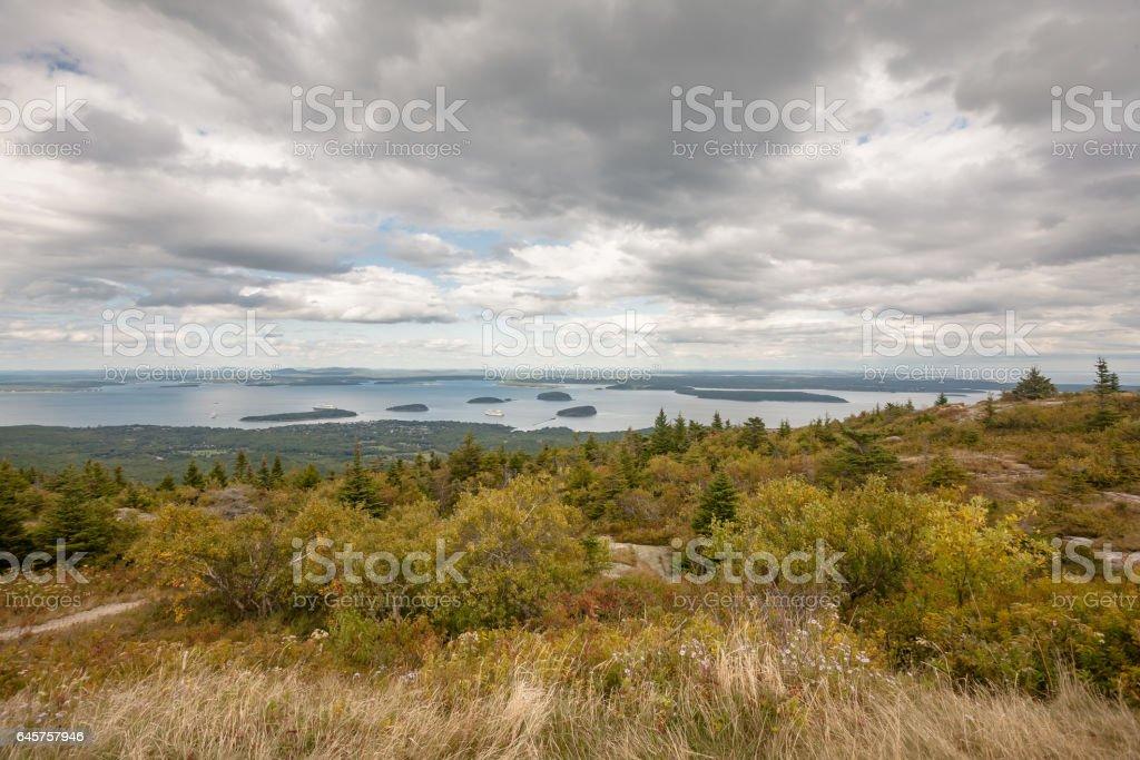 Maine stock photo