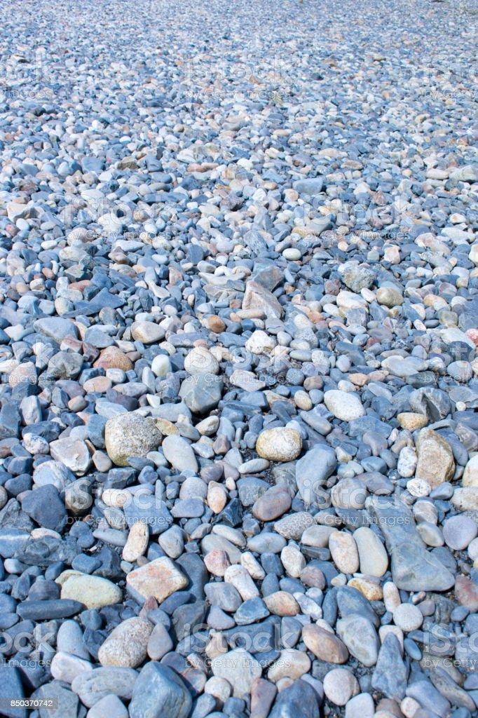 Maine Rocky Beach stock photo