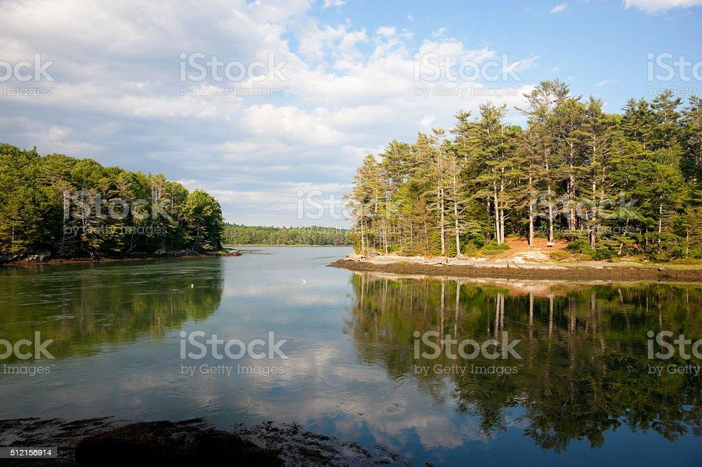 Maine scenics stock photo