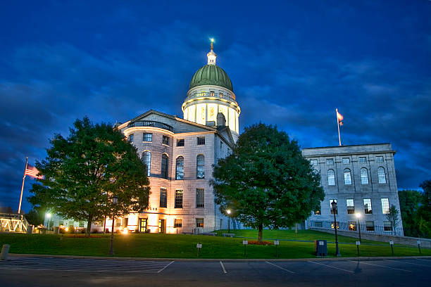 Maine State Capitol 1 stock photo