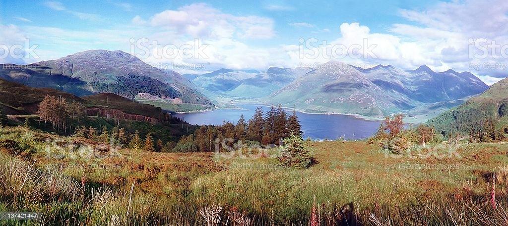 Mainland From Skye royalty-free stock photo