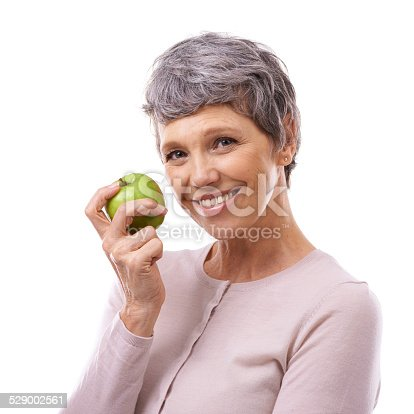 1173001813istockphoto Maintaining her healthy glow 529002561