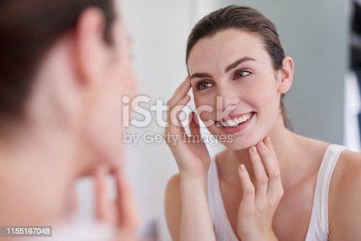 1155167023istockphoto Maintaining the health of her skin 1155167048