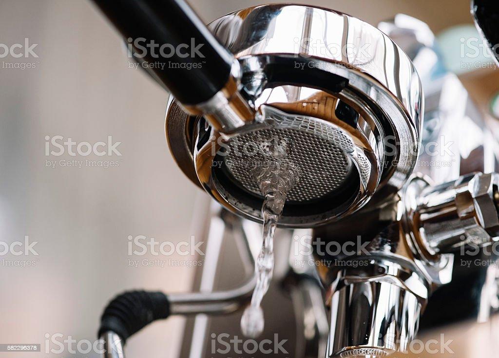 Fotografía de Mantenimiento De La Máquina De Café Espresso De Grupo ...