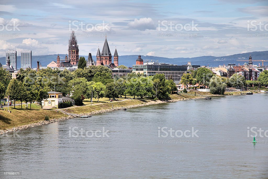 Mainz royalty-free stock photo