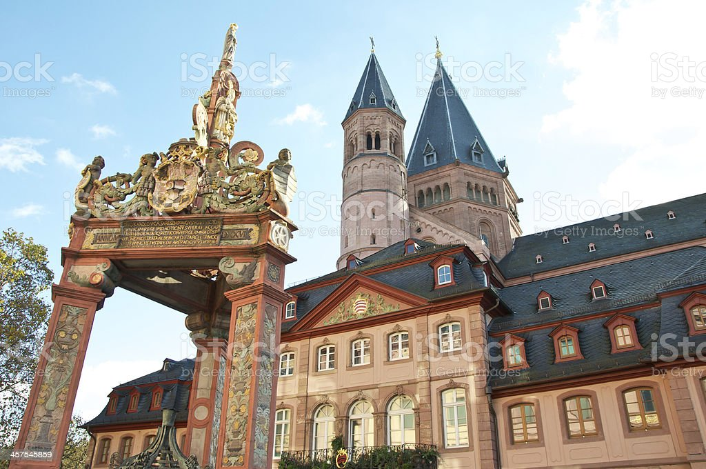 Mainz-rhineland-palatinate stock photo