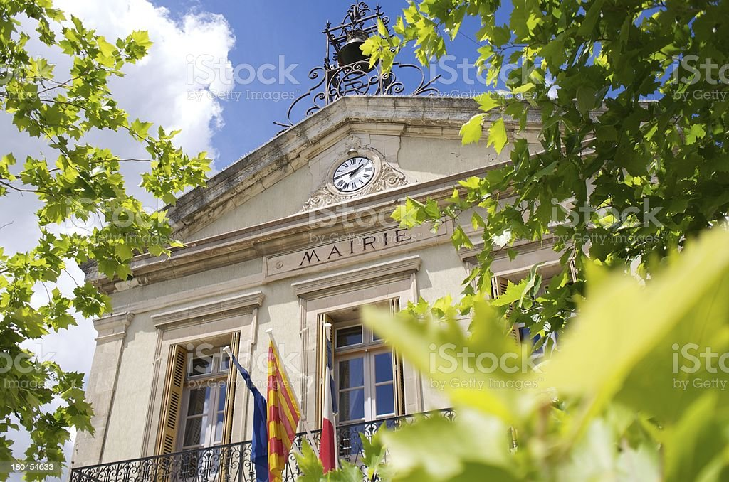 Mairie  Hotel de Ville  Town Hall  France stock photo