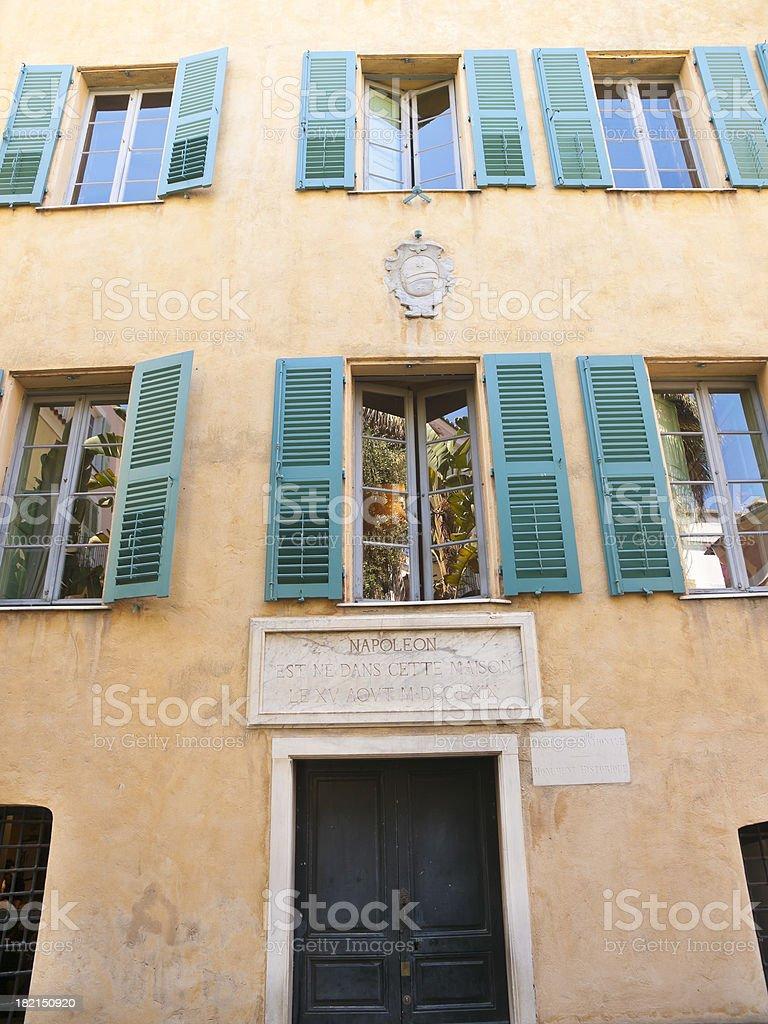 Maison Bonaparte royalty-free stock photo
