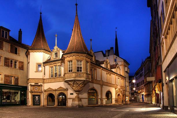 Maison des Halles, Neuchatel, Schweiz – Foto