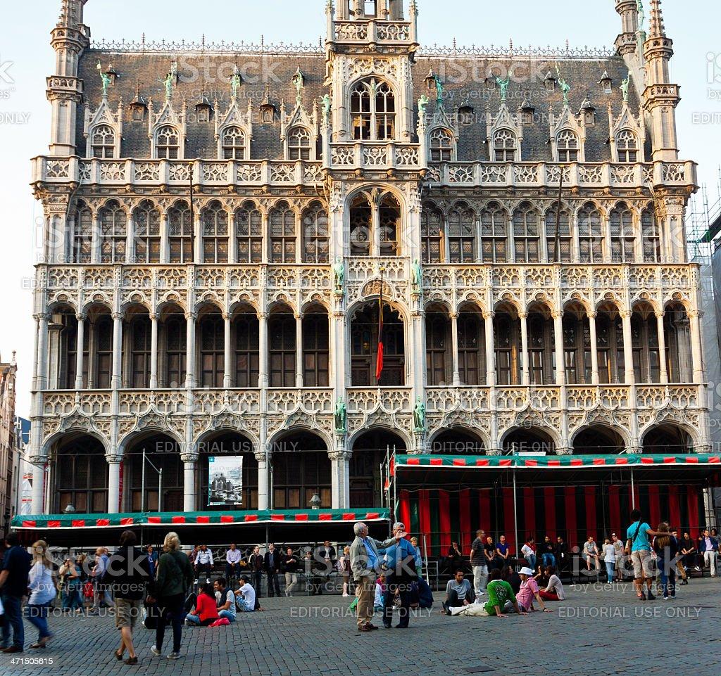 Maison du Roi (King's House), Brussels. royalty-free stock photo