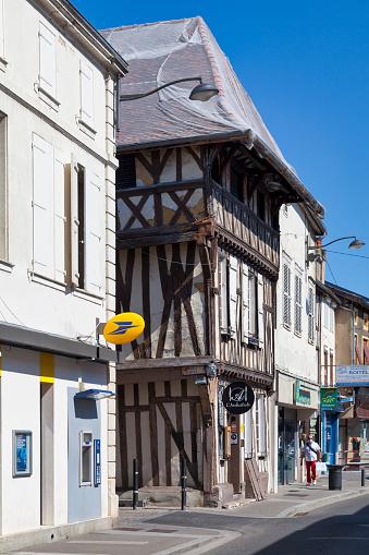 Maison Parcollet In Saintdizier Stock Photo - Download Image Now