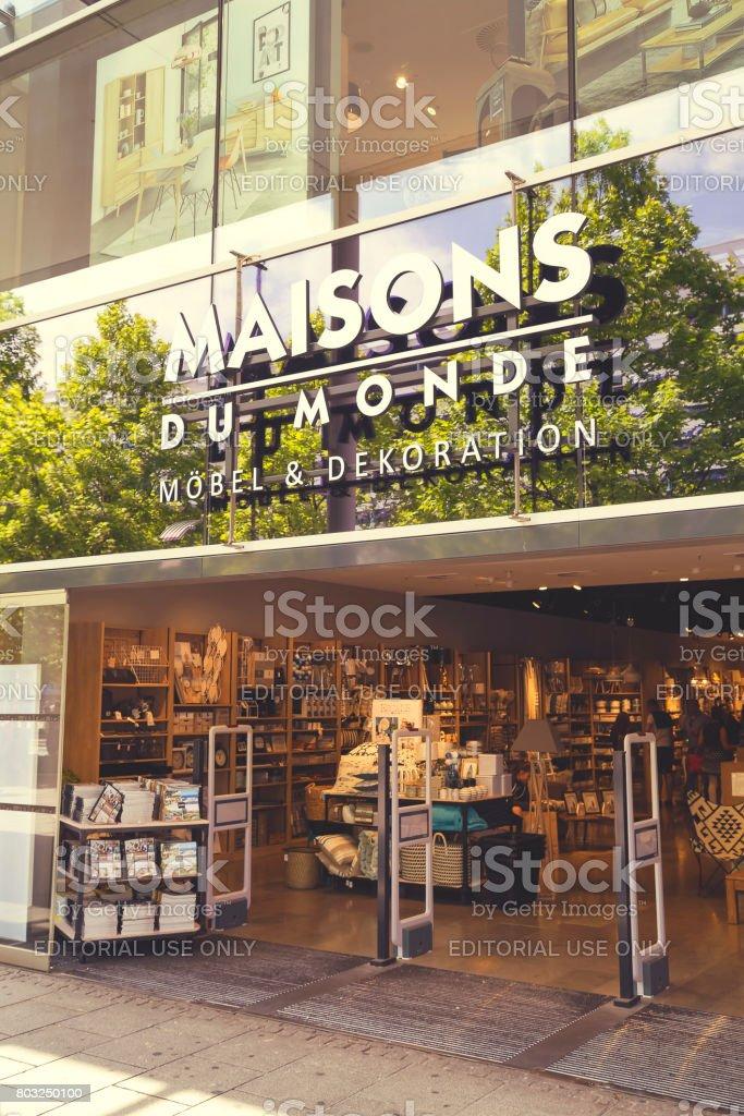 Maisons Du Monde Store Exterior Stock Photo - Download Image Now