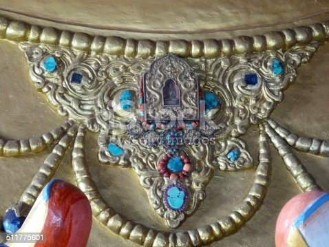 istock Maitreya buddha necklace 511775601